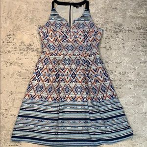 41 Hawthorn Geometric Dress M